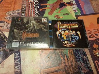 Castlevania Symphony of the Night inklusive musikskiva
