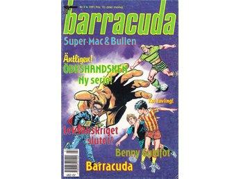 Barracuda nr 2 1991 / FN / snygg - Vallentuna - Barracuda nr 2 1991 / FN / snygg - Vallentuna