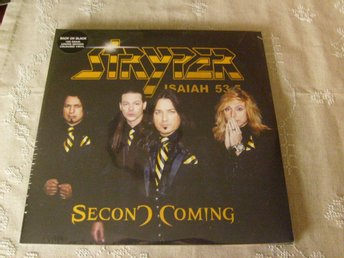 STRYPER - SECOND COMING - INPLASTAD - RCV091LP - UK 2013 - GULA VINYLER.