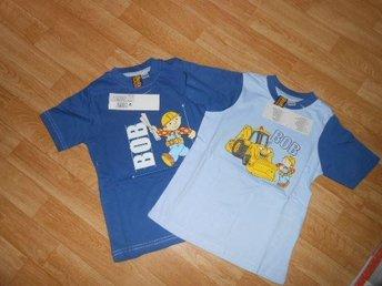 NYTT 2 pack Byggare Bob T-shirts stl 98/104 (SISTA) - åkersberga - NYTT 2 pack Byggare Bob T-shirts stl 98/104 (SISTA) - åkersberga