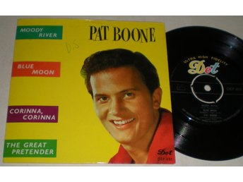 Pat Boone EP/PS Moody river 1961