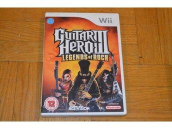 Guitar Hero 3 III legends Of Rock Nintendo Wii Rock band - Töre - Guitar Hero 3 III legends Of Rock Nintendo Wii Rock band - Töre