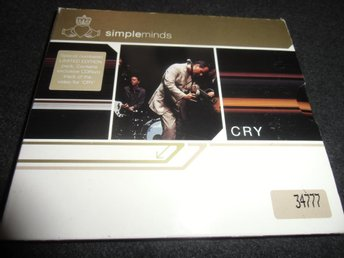 Simple Minds - Cry - Digipack - 2002 - Numrerad! 34777