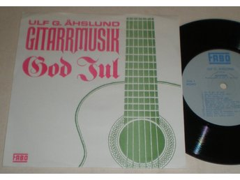 Ulf G. Åhslund EP/PS God Jul 1968 VG++