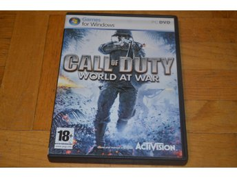 Call Of Duty - World At War - PC Spel