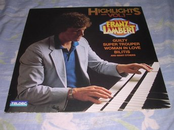 Franz Lambert - Highlights vol 1 (LP) Hammond Lounge EX/EX