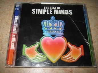 SIMPLE MINDS - THE BEST OF.  DUBBEL-CD.