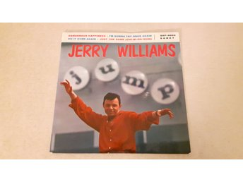 Jerry Williams & The Violents - Dangerous Happiness (Endast Omslag)