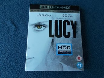 4K ULTRA HD BLU-RAY LUCY Luc Besson Scarlett Johansson HDR Dolby Atmos