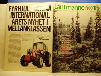 Ä.Tidskrift lantmannen  nr 18/1978 SVEA RANCH mm