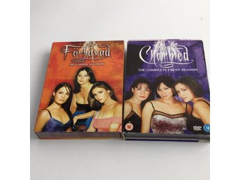 DVD VIDEO, DVD-Filmer, Charmed, Förhäxad, hela säsonger, Orange/Lila