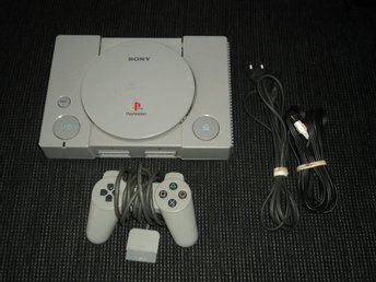PS1 Playstation Basenhet + Handkontroll
