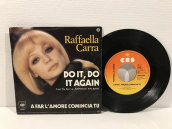 Raffaella Carrà - Do it, Do It Again (CBS 6094) RARE