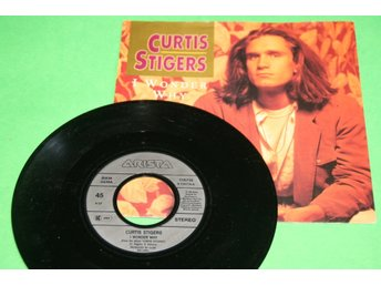 CURTIS STIGERS. I WONDER.NOBODY LOVES ME LIKE YOU DO.1991.