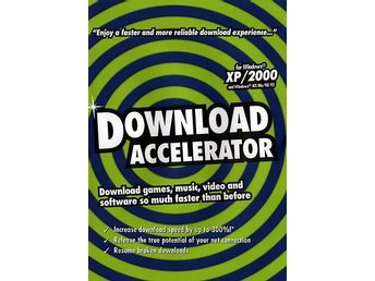 DOWNLOAD ACCELERATOR-snabbare nerladdning t. PC/ NY JULKLAPP