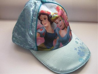 Disney Princess Barn Keps Hat cap - Princess Ljusblå NY THN