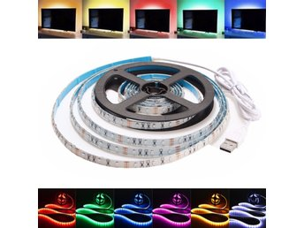 1M Waterproof USB SMD3528 TV Background Computer LED Stri...