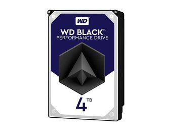 "WD BLACK Desktop HDD 3,5"" 4TB, 128MB, 7200RPM"