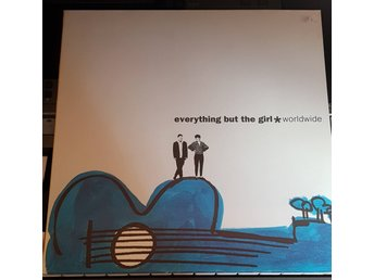 LP Everything But the Girl - Worldwide (Blanco y Negro 1991, electronic)