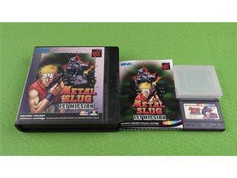 Metal Slug 1st Mission Komplett i mycket fint skick Neo Geo Pocket Color - Hägersten - Metal Slug 1st Mission Komplett i mycket fint skick Neo Geo Pocket Color - Hägersten