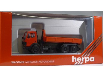 Herpa H0 1:87 nr 871000 Mercedes lastbil - Halmstad - Herpa H0 1:87 nr 871000 Mercedes lastbil - Halmstad