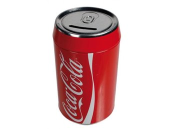 Coca Cola Sparbössa i plåt - örebro - Coca Cola Sparbössa i plåt - örebro