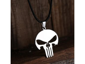 Halsband The Punisher i stål