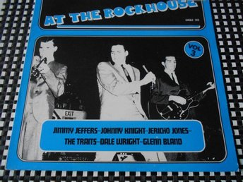 LP - AT THE ROCKHOUSE VOL 3 - ROCKABILLY - ROCKER