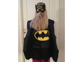 Batman cape och mask