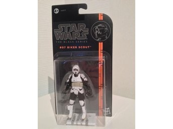 Star Wars black series figur #07-BIKER SCOUT
