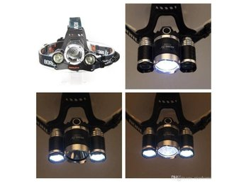 Pannlampa 3XCREE LED 5000 Lumen