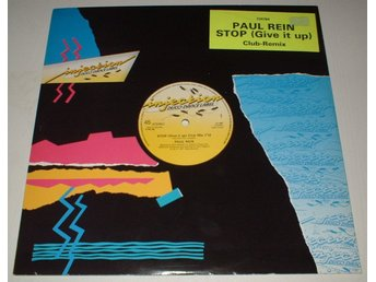 "PAUL REIN Holländsk 12"" Stop (Give it up) 1987 Club Mix"