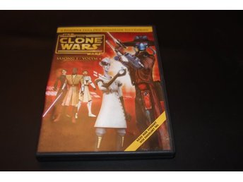 DVD-film: The Clone Wars - Säsong 1 Volym 4