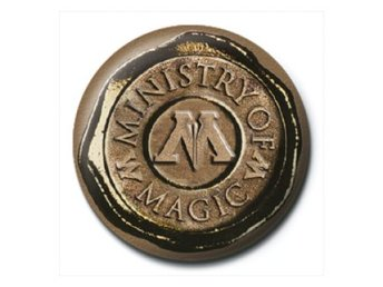 Harry Potter Pinn Ministry Of Magic Seal