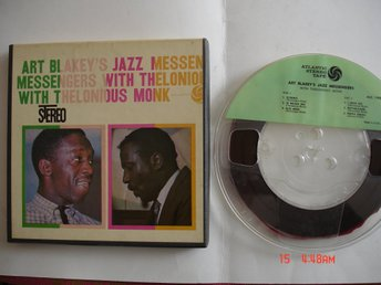 ART BLAKEY´S JAZZ MESSENGERS, with Thelonius Monk, rullband