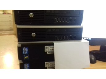 4 st HP Compaq 8200 Elite ultra small.FYNDA