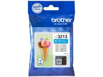 Brother LC3213C Cyan 400 pages