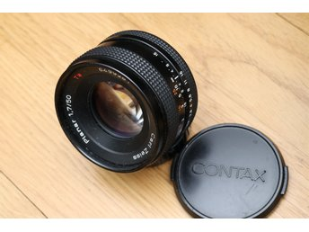 Carl Zeiss Planar 50mm 1:1.7 T* med Contax Yashica? C/Y fattning