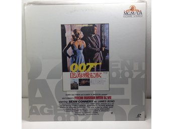 James Bond  007 From Russia with Love (Sean Connery) Laserdisc 1LD B8-04