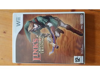 Nintendo Wii Link's crossbow training Barn spel