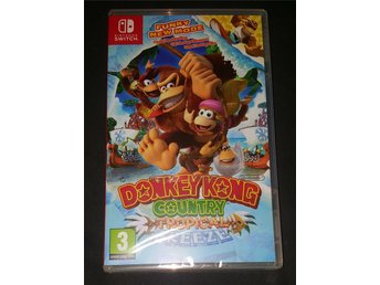 Donkey Kong country tropical freeze till Switch NYTT!