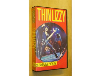 Thin Lizzy-Live & Dangerous (VHS)