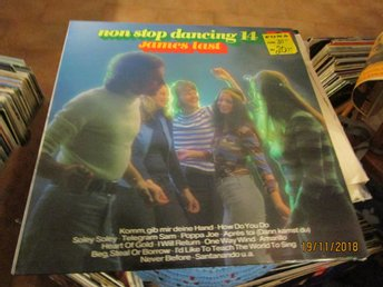 JAMES LAST - NON STOP DANCING 14 - LP
