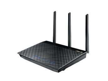 ASUS RT-AC66U B1 Wireless Router Gigabit 802.11ac 1300+450Mbps WLAN USB2.0 FTP