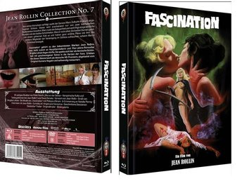 Fascination (Limited Mediabook DVD + BLU-RAY!) 300 ex - JEAN ROLLIN (1979)