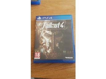 Ps4 Spel Fallout 4 Komplett I Bra Skick Med M 344556218 ᐈ Köp