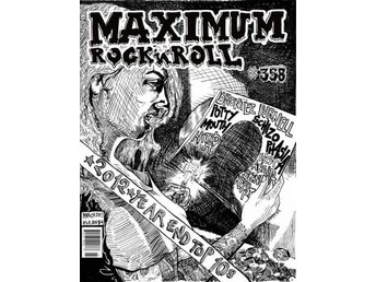 Maximum Rocknroll Magazine *358 March 2013 - MAGAZINE NY - FRI FRAKT