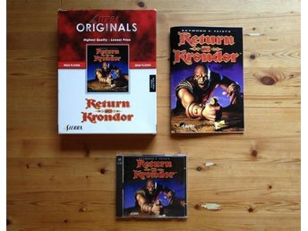 Return to Krondor, PC-spel (RPG, rollspel)