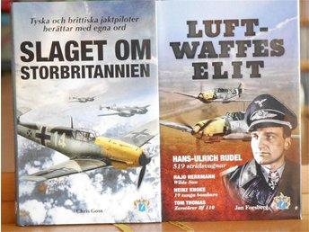 Flyg under andra värlskriget, unikt fina böcker - Karlskrona - Flyg under andra värlskriget, unikt fina böcker - Karlskrona