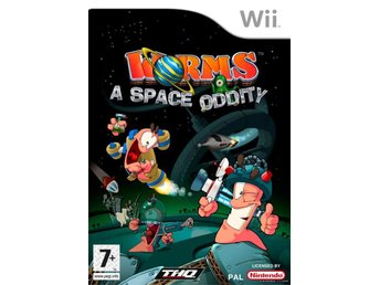 Worms A Space Oddity Nintendo Wii